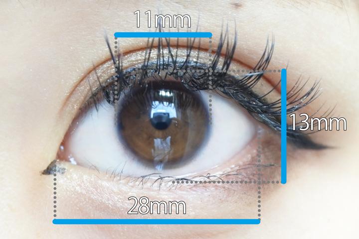 裸眼サイズ1.5
